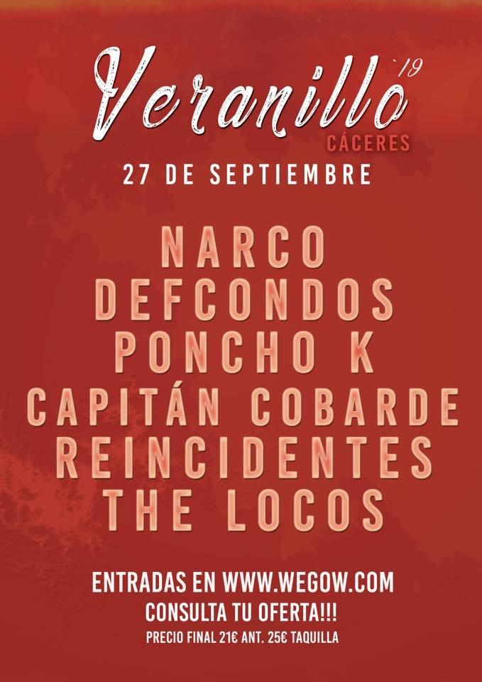 Veranillo Festival Cáceres 2019