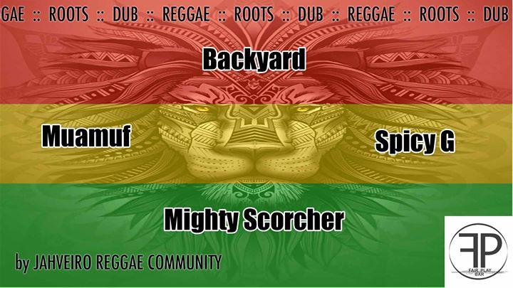 Reggae Party no Fair Play Bar