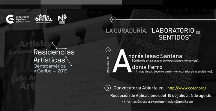 """Residencia """"La Curaduría: laboratorio de sentido"""""""