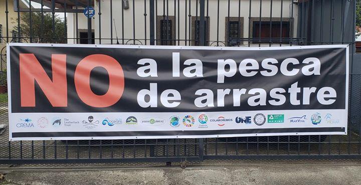 Marcha #NoALaPescaDeArrastre