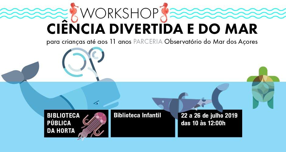 Workshop de Ciência Divertida e do Mar