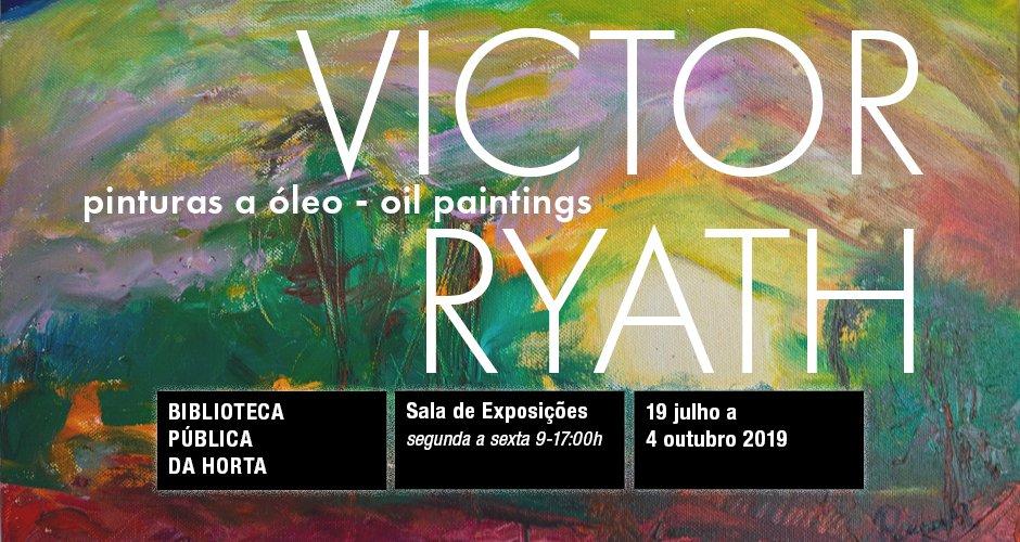 Exposição de Pintura de Victor Ryath