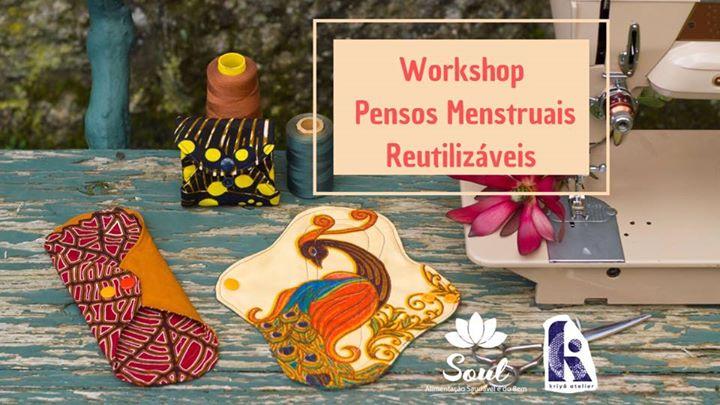 Workshop - Pensos Menstruais Reutilizáveis