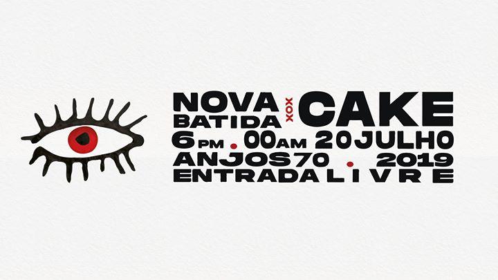 Nova Batida x CAKE at Anjos70