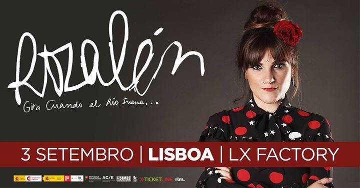 Rozalén en Lisboa