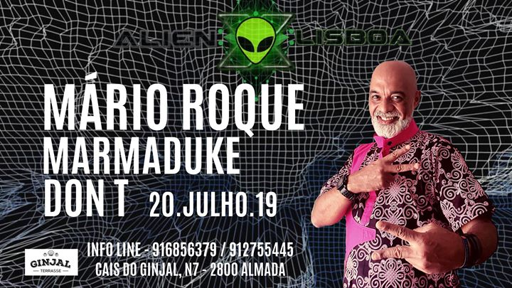 Mário Roque at Ginjal Terrasse by AlienX Lisboa