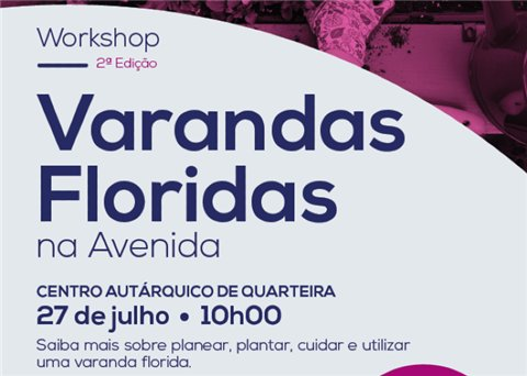 Workshop 'Varandas Floridas' em Quarteira
