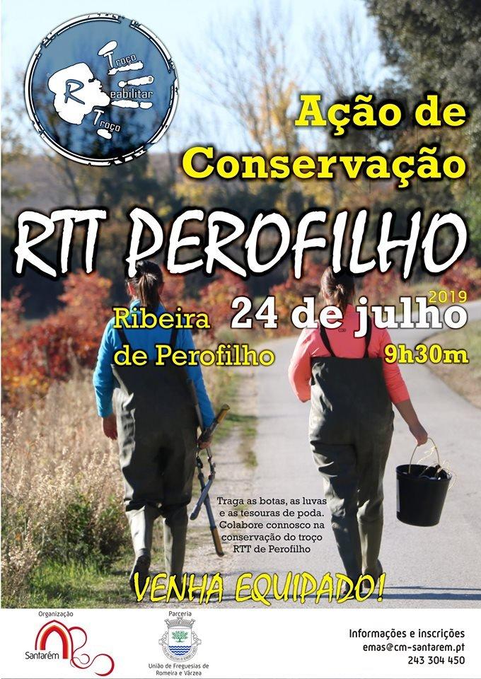 Ação de Conservação - RTT Perofilho