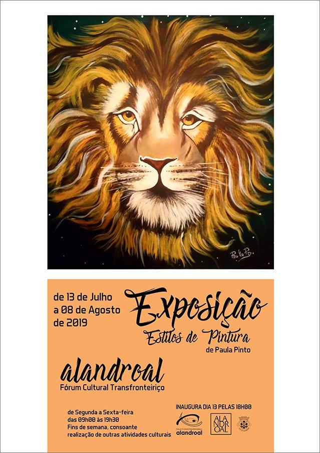 """Exposição """"Estilo de Pinturas"""" de Paula Pinto"""