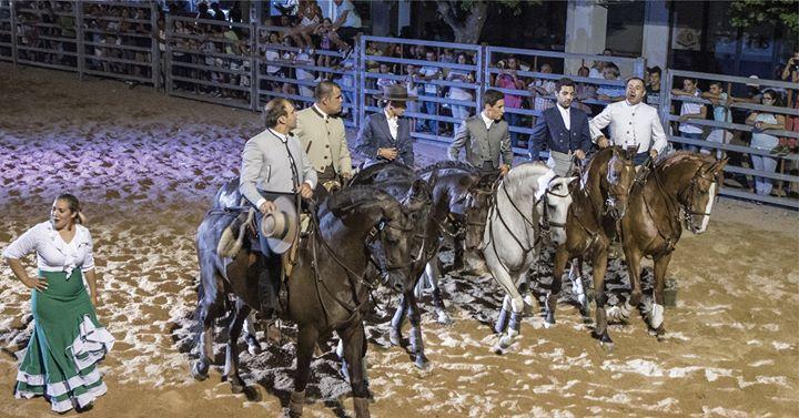 Espetáculo Equestre com Fado e Flamenco / XXIII Feira Raiana