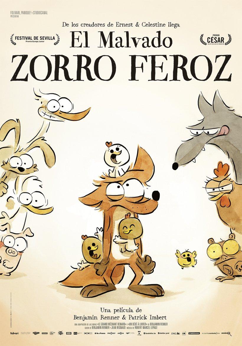"""Ciclo Cine Aire Libre: """"El malvado zorro feroz"""""""