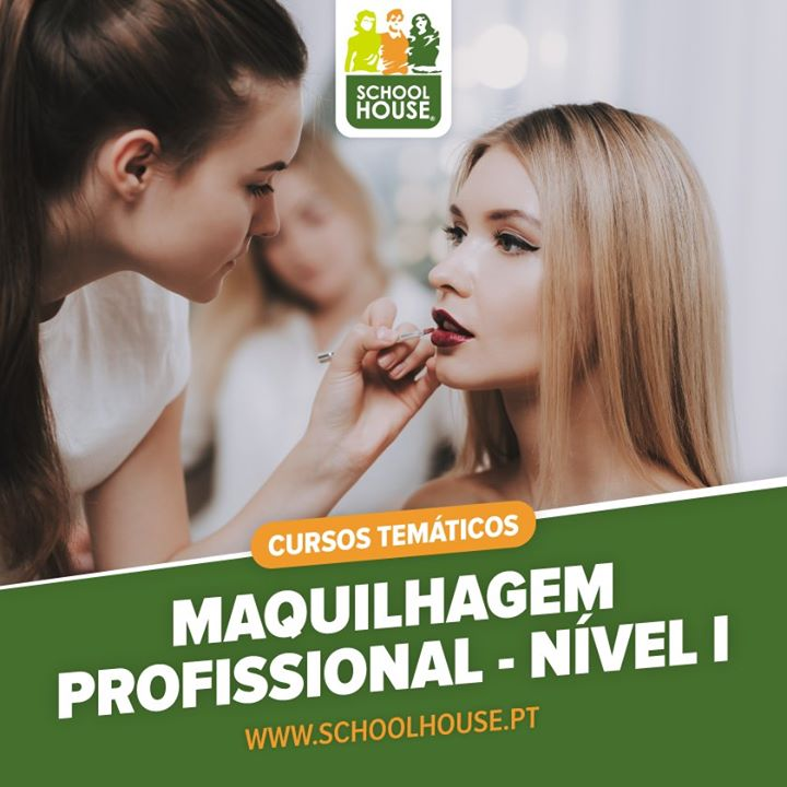 Curso Maquilhagem Profissional - Nível I