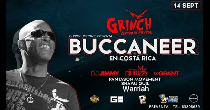 Buccaneer en Costa Rica Sabado 14 Setiembre