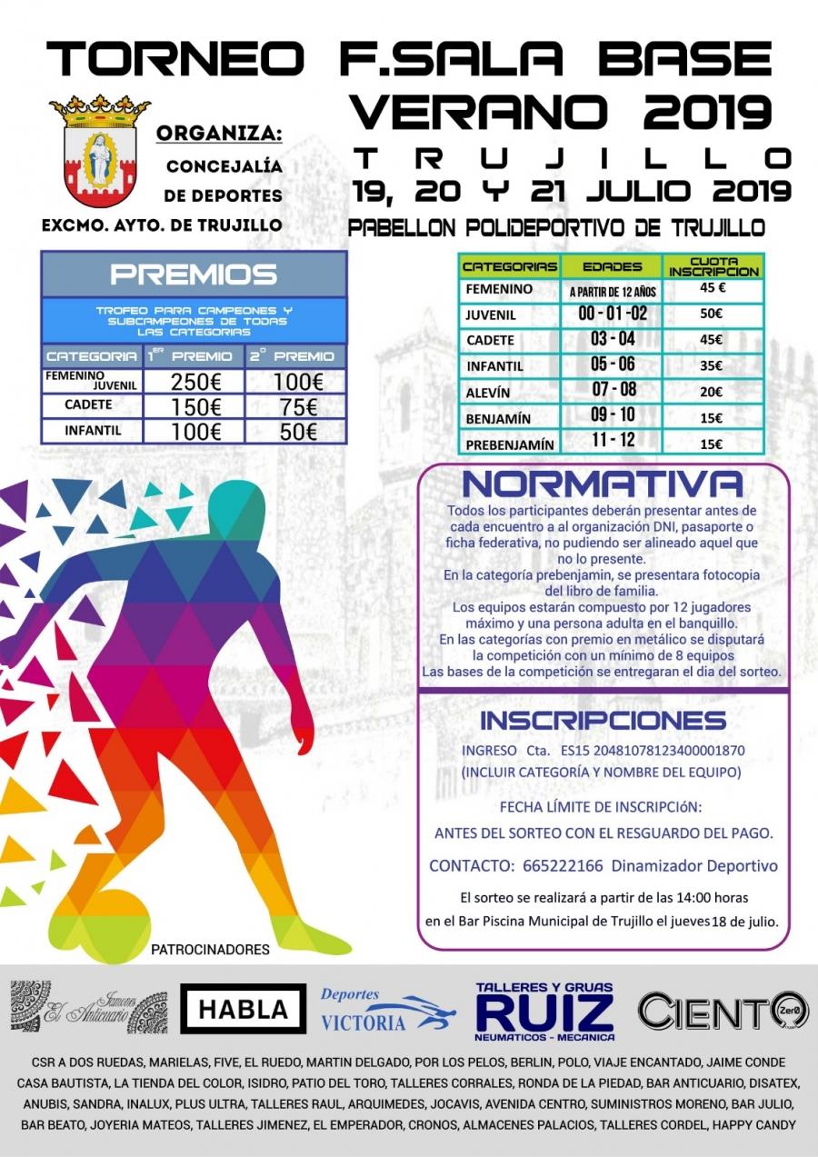 Torneo fútbol sala base verano 2019pa e