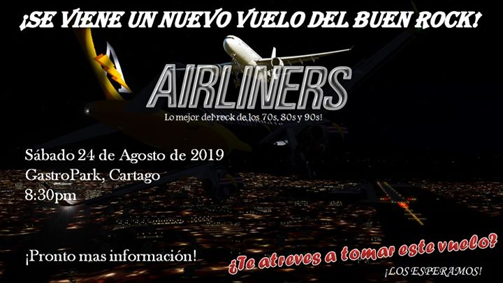 Airliners at Gastro Park 2019