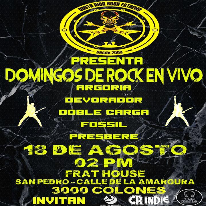 Domingos De Rock En Vivo 2019