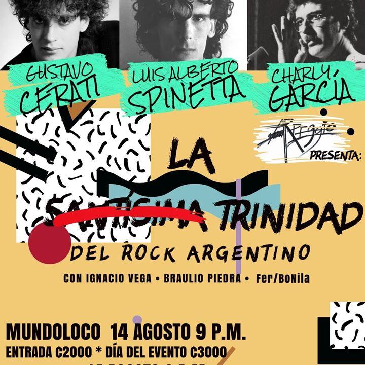La Trinidad del Rock Argentino