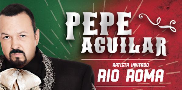 Pepe Aguilar Y Río Roma en Costa Rica