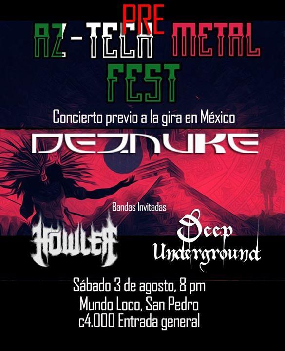 Pre Aztech-Metal Fest