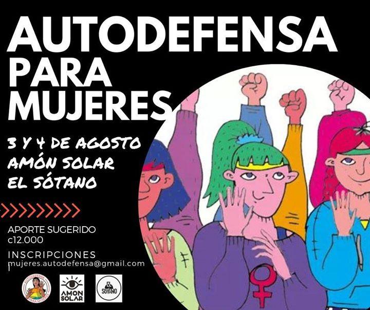 Taller de Autodefensa para Mujeres en San José de Costa Rica