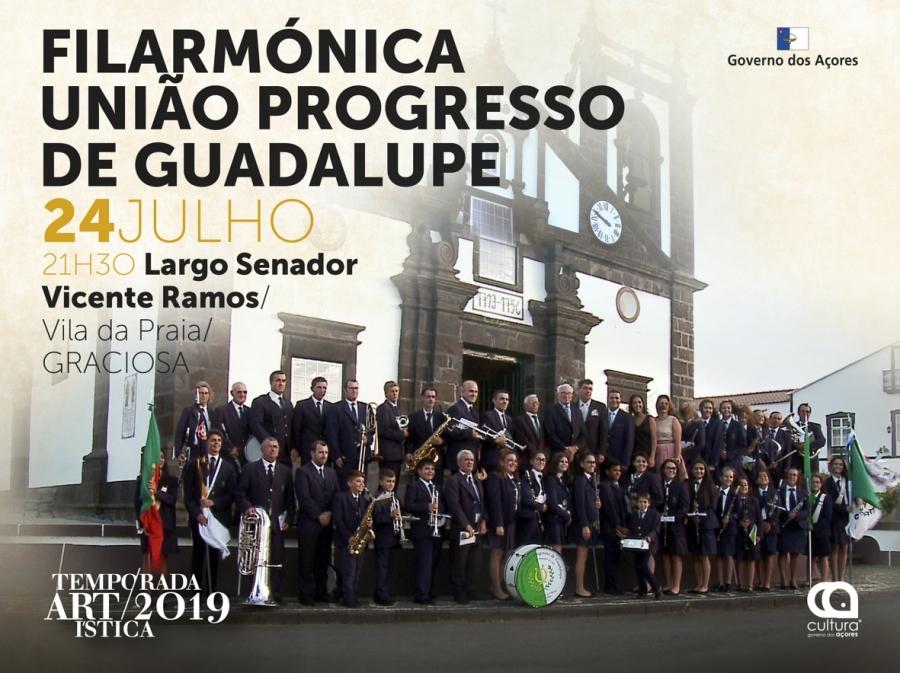 Temporada Artística 2019: Concerto pela Filarmónica União Progresso de Guadalupe