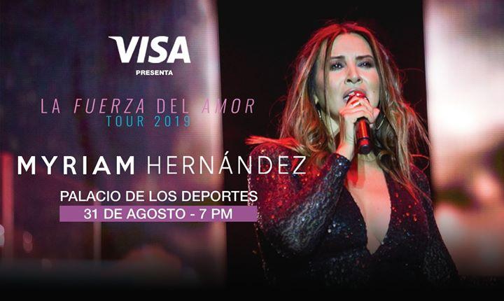 Myriam Hernández en Costa Rica 2019 Evento Oficial