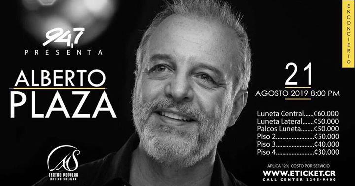 Alberto Plaza en Costa Rica 2019 ((EVENTO OFICIAL))