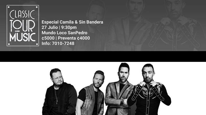 Especial Camila & Sin Bandera