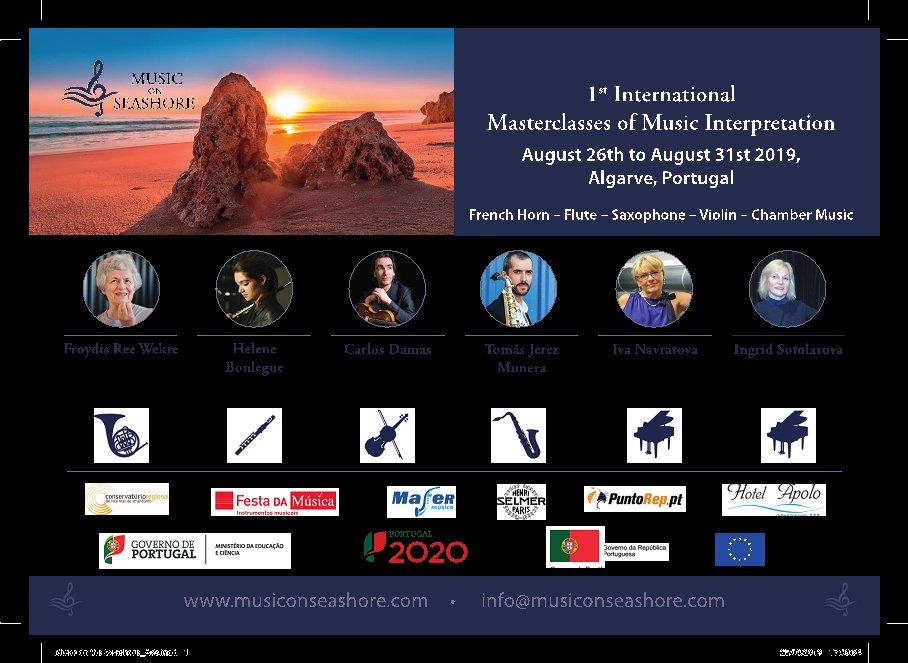 1ª Masterclass Internacional de Interpretação Musical