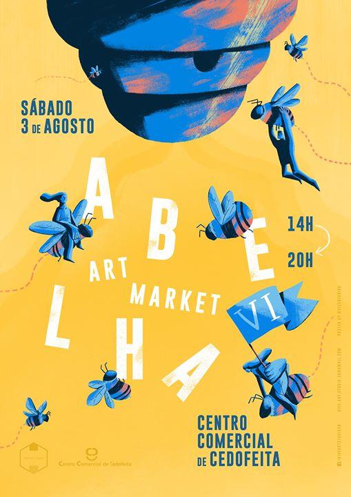 Abelha VI . Mercado de Arte