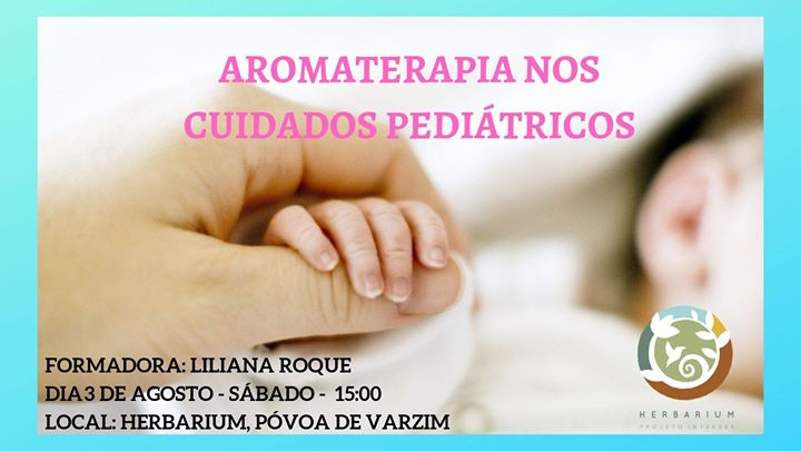 Workshop de Aromaterapia nos cuidados pediátricos