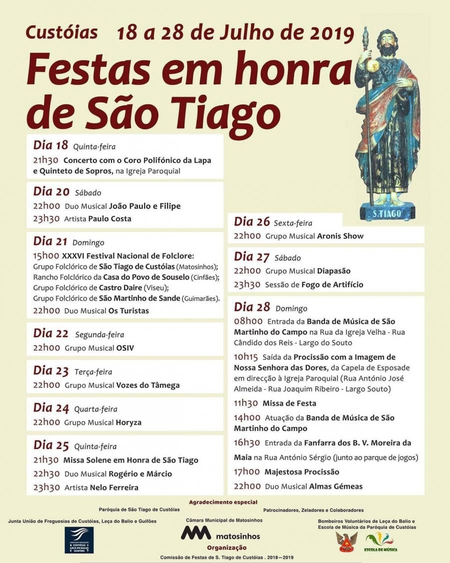 Festas em Honra de São Tiago