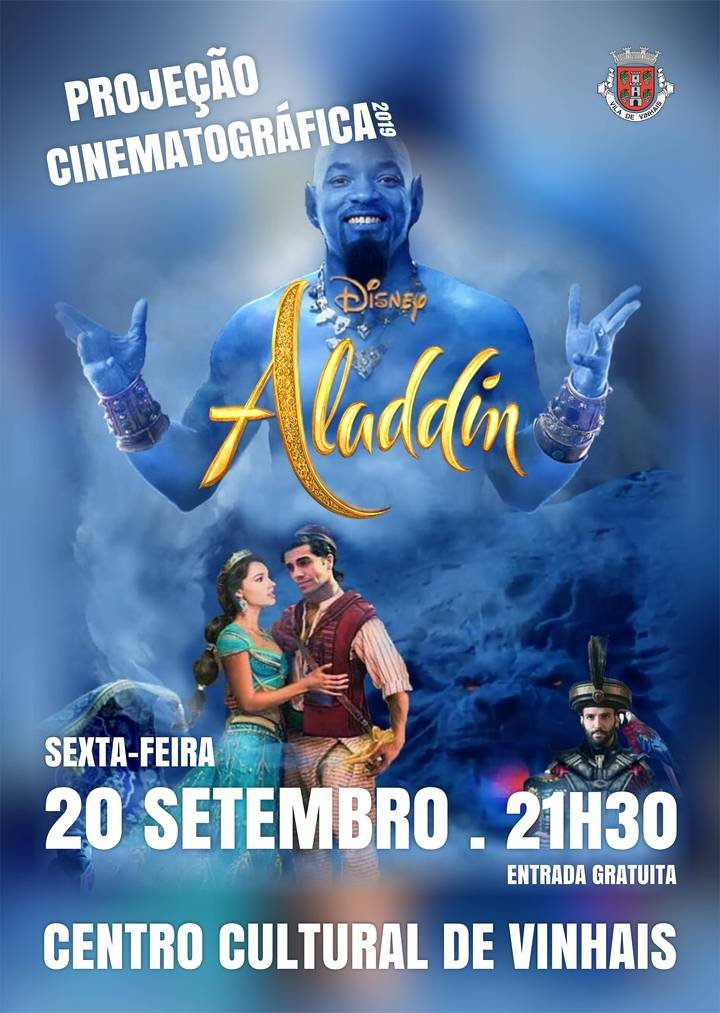 Projeção Cinematográfica 'Aladdin'