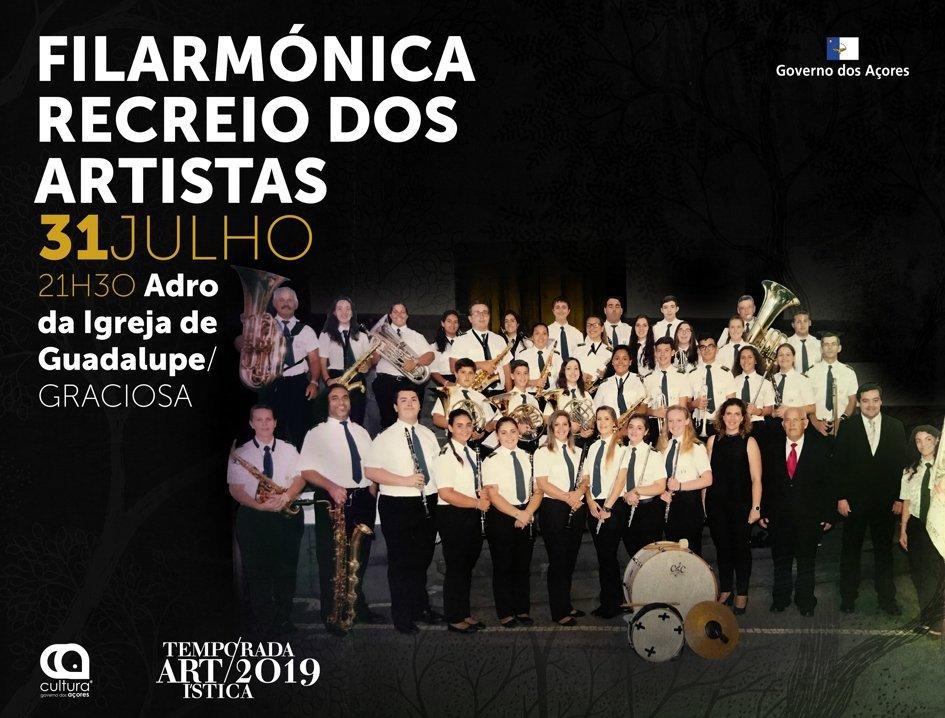 Temporada Artística 2019: Filarmónica Recreio dos Artista