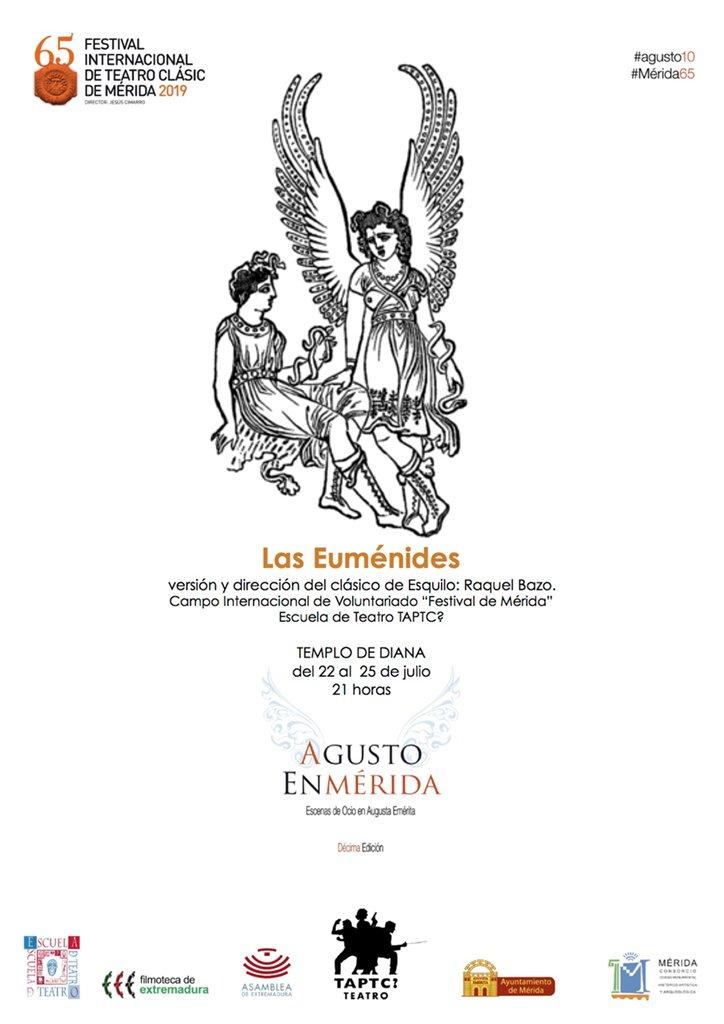 "Agusto en Mérida: ""Las Euménides"""