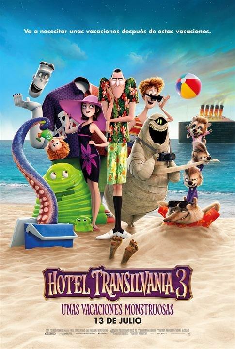 "Ciclo Cine Aire Libre: ""Hotel Transilvania 3"""