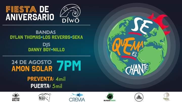 Fiesta de Aniversario de Diwo Ambiental