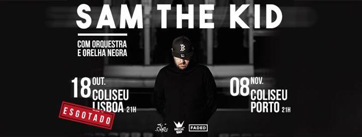 Sam the Kid com Orquestra e Orelha Negra - Coliseu Lisboa