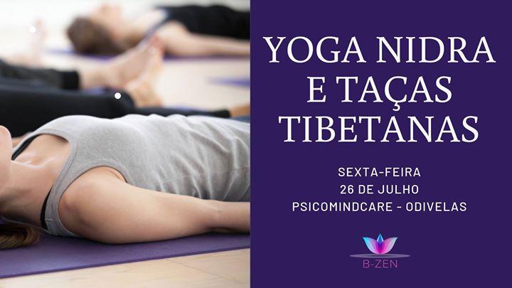 Relaxamento Profundo com Yoga Nidra e Taças Tibetanas