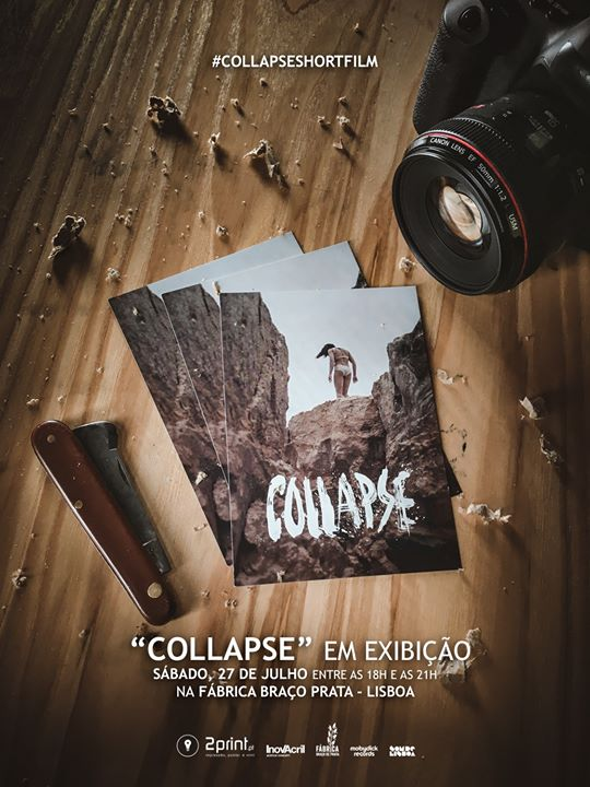 Exibição do filme 'Collapse'