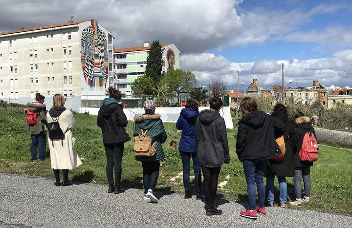 Cancelada - Arte Urbana em Marvila. Onde param as mulheres?