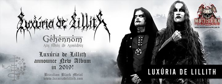 Luxuria de Lilith (Brasil) + Destroyers of All