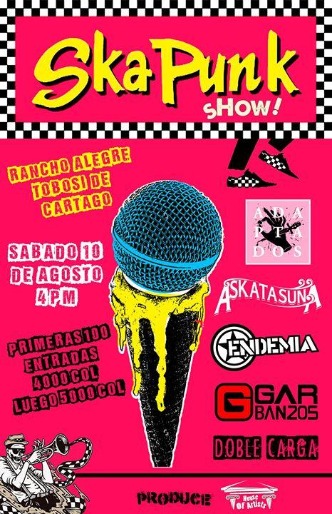 Ska Punk Show en Rancho Alegra Tobosí (Cartago)