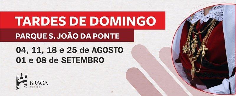 'Tardes de Domingo' no Parque da Ponte