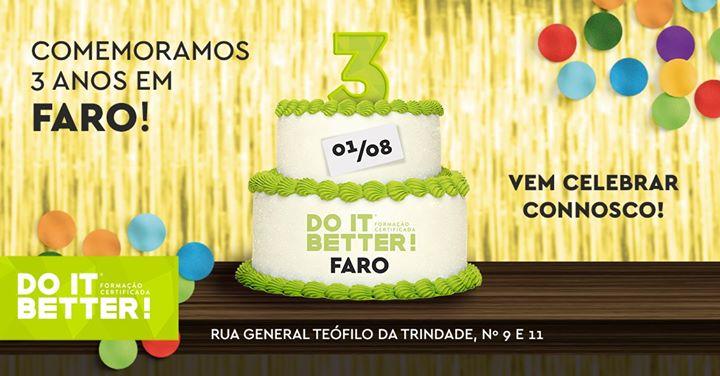3º Aniversário da Do It Better Faro