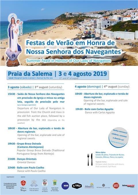 Festas de Verão em Honra de Nossa Senhora dos Navegantes 2019