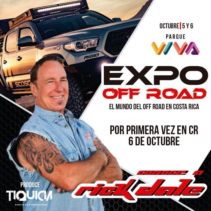 """Expo Off Road Con Rick Dale """"Los Restauradores"""""""