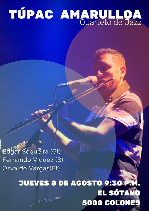 Túpac Amarulloa Quarteto de Jazz en el Sótano