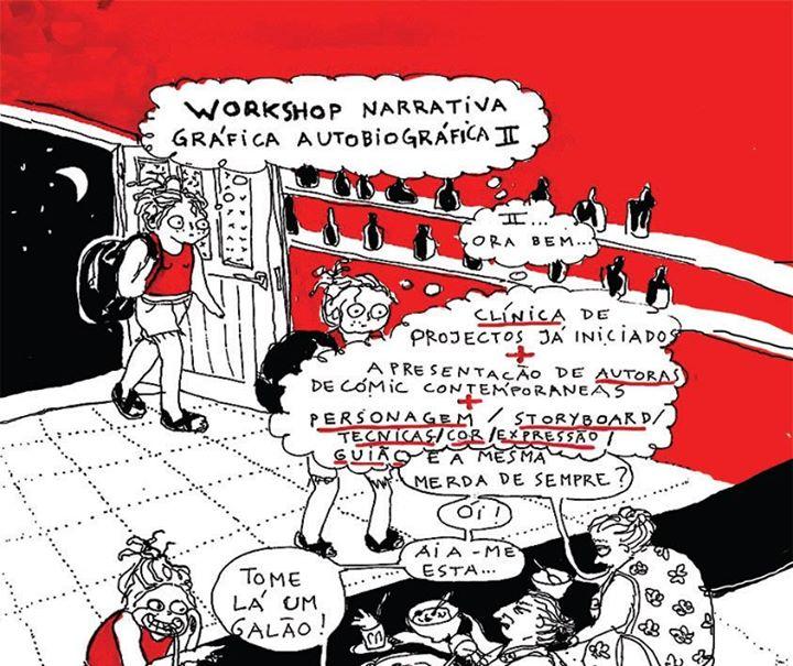 Workshop Narrativa gráfica autobiográfica II
