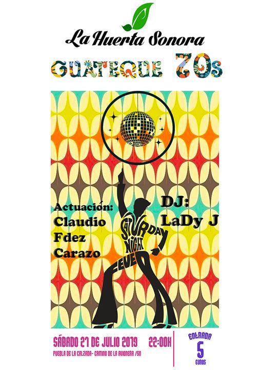 Fiesta Guateque AÑOS 70s